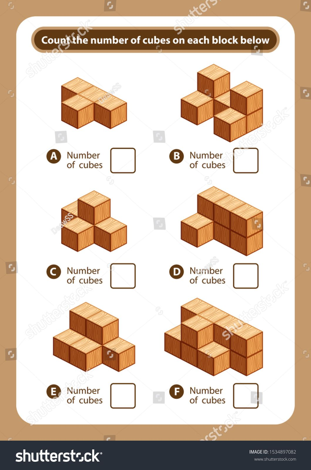Articles Sheet Count The Number Of Cubes On Each Block Kids Activity Sheet F Activity Sheets For Kids Fun Worksheets For Kids Visual Discrimination Worksheets [ 1600 x 1059 Pixel ]