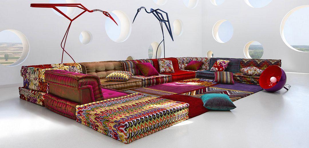 Mah Jong Sofa Roche Bobois Missoni Home Store Design Interior
