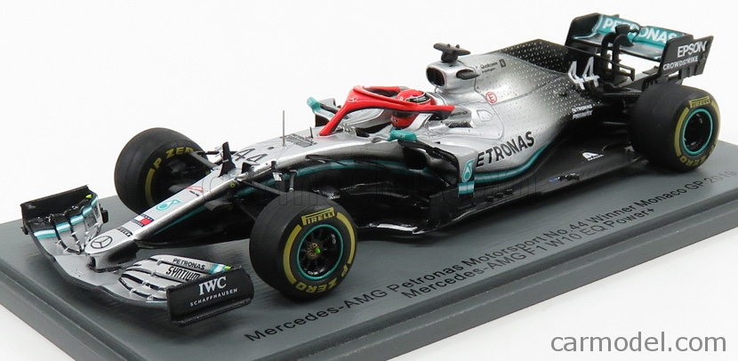 Mercedes W10 Lewis Hamilton Gp Usa 2019 World Champion Formula 1 2019 1:43 Model