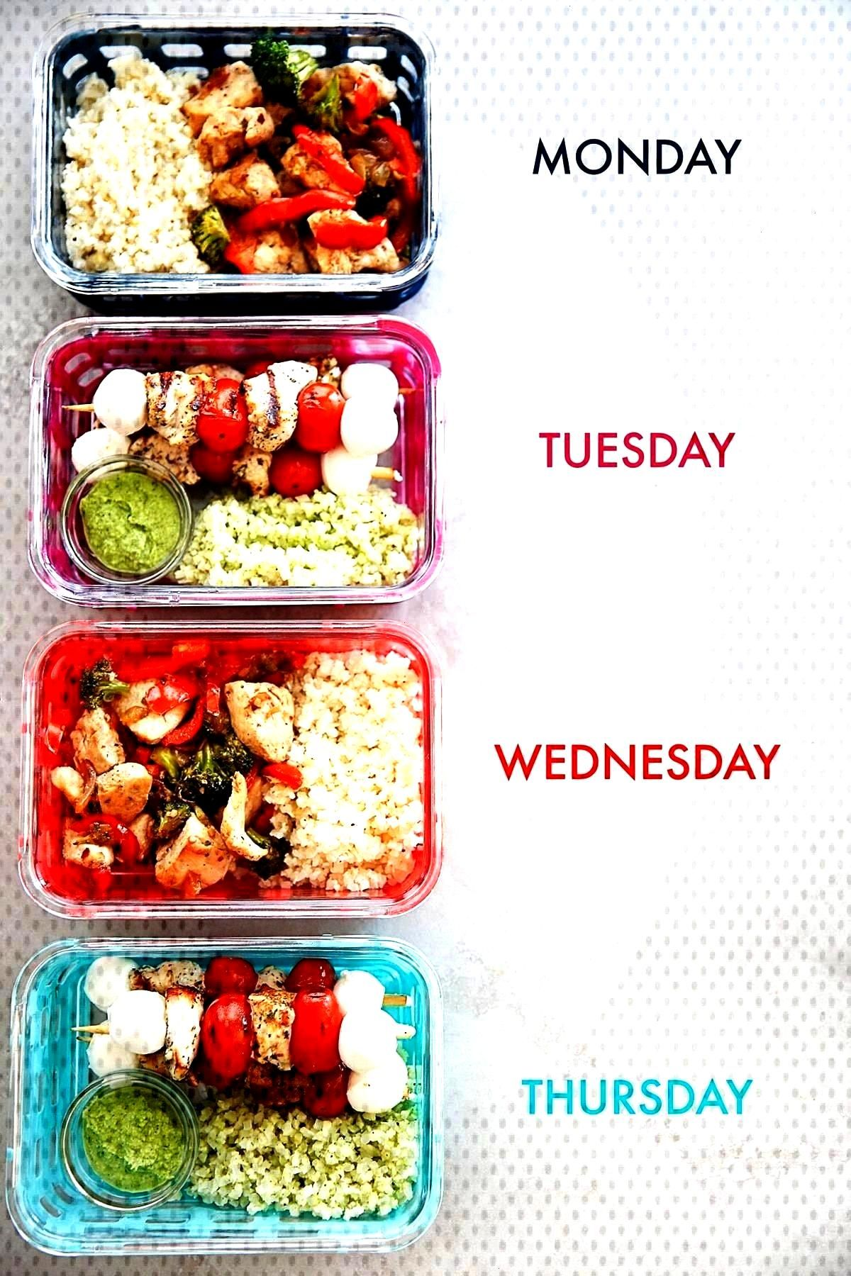 8 Budget Friendly Lunches - Lexis Clean Kitchen - Healthy lunch ideas for work -Meal Prep 8 Budge