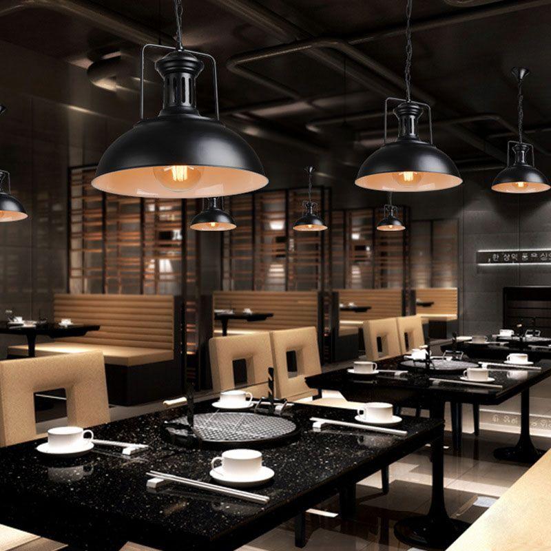 Edison vintage industrielle abat jour chaîne pendentif lumière rétro - rampe d eclairage pour cuisine