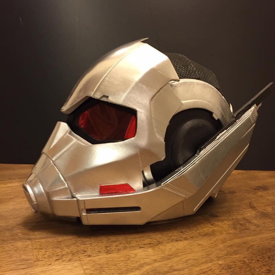3D Printable Model: New Ant-Man Helmet V2.3 from Captain America Civil War | File Formats: STL OBJ – Do3D.com