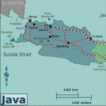 Map of Bandung Indonesia Travel Indonesia Pinterest Bandung
