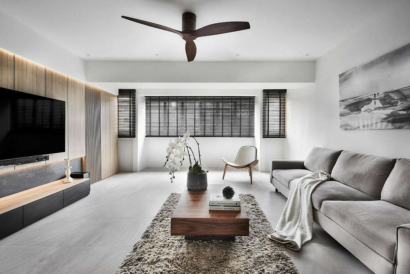 Apartment In Singapore By Icon Interior Design Homea