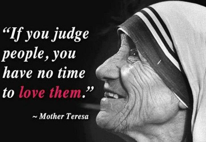 Love Mother Teresa!