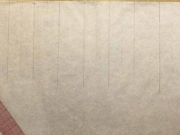 DIY-Anleitung: Midirock mit Kellerfalten selber nähen via DaWanda.com
