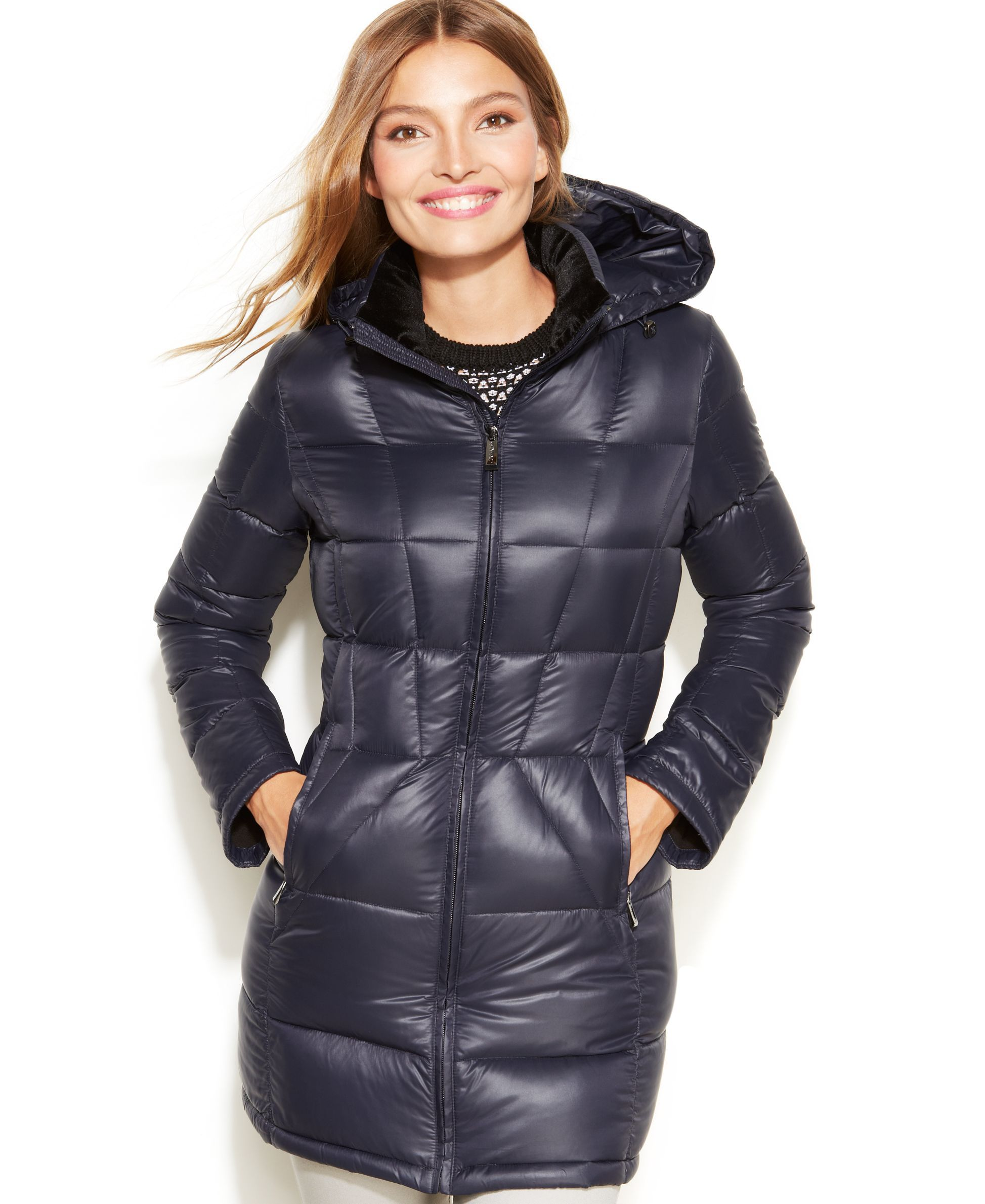 Calvin Klein Petite Packable Quilted Down Puffer Jacket Coats Women Macy S Coats For Women Puffer Jacket Women Stylish Winter Coats [ 2378 x 1947 Pixel ]