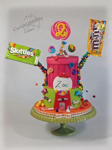 Nouvelle mode : les Gravity Cake #gravitycake
