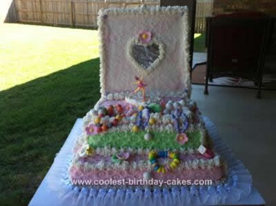 Cool Homemade Ballerina Jewelry Box Cake Boxed cake Square cakes