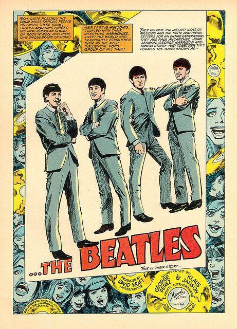 La storia dei Beatles a fumetti!!    The Beatles in Comics | Brain Pickings    http://www.brainpickings.org/index.php/2012/08/23/beatles-in-comics-enzo-gentile