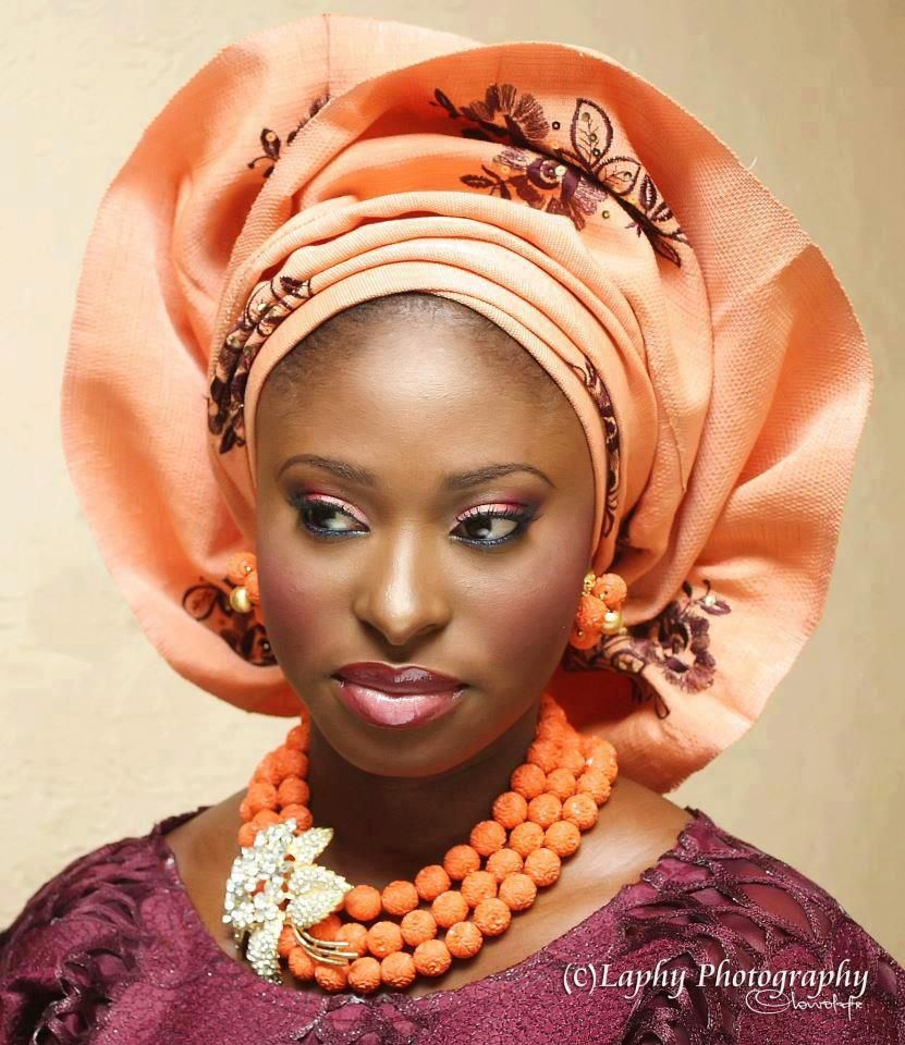 My Nigerian Wedding: Nigerian Head Dress. Takes Me Back To My Time At Ibadan