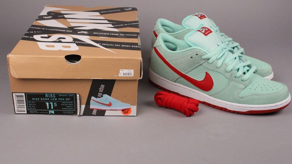 wholesale dealer 1b904 aa46a Nike SB Dunk Low Pro Monopoly Board Mint/Gym Red 304292-360 ...