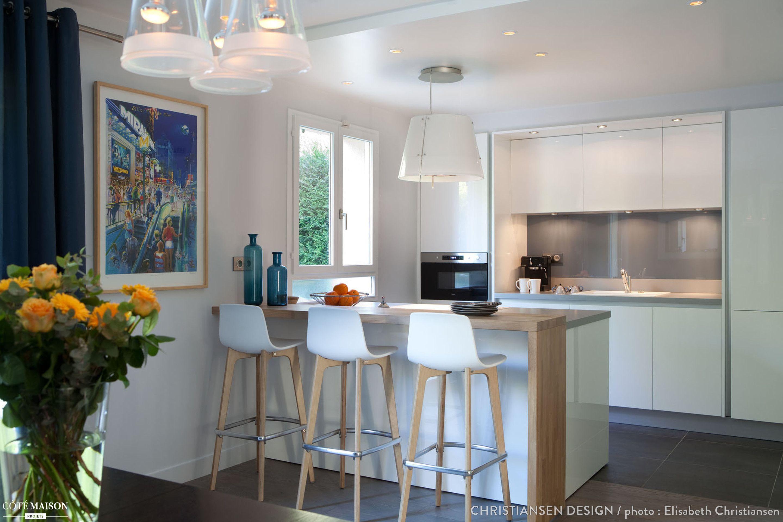 cuisine design contemporain et palette de couleurs d. Black Bedroom Furniture Sets. Home Design Ideas