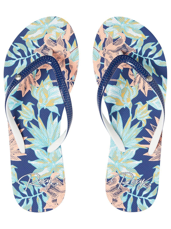 Roxy Womens Portofino Flip Flop Sandals
