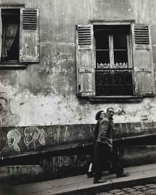 Paris, Wall,  1954 by Piergiorgio Branzi