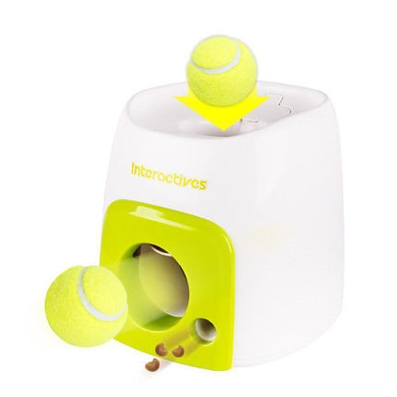 Interactives Automatic Dog Ball Launcher Toy Your Dog Will Start