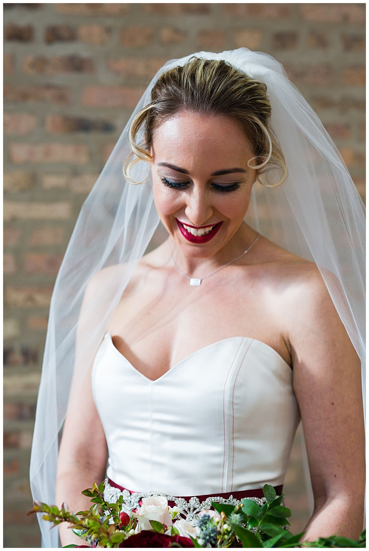 chicago cubs styled wedding wedding hair and makeup by