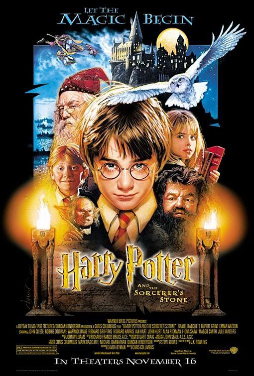 The Harry Potter Series Harry Potter Movie Posters Harry Potter Movies The Sorcerer S Stone