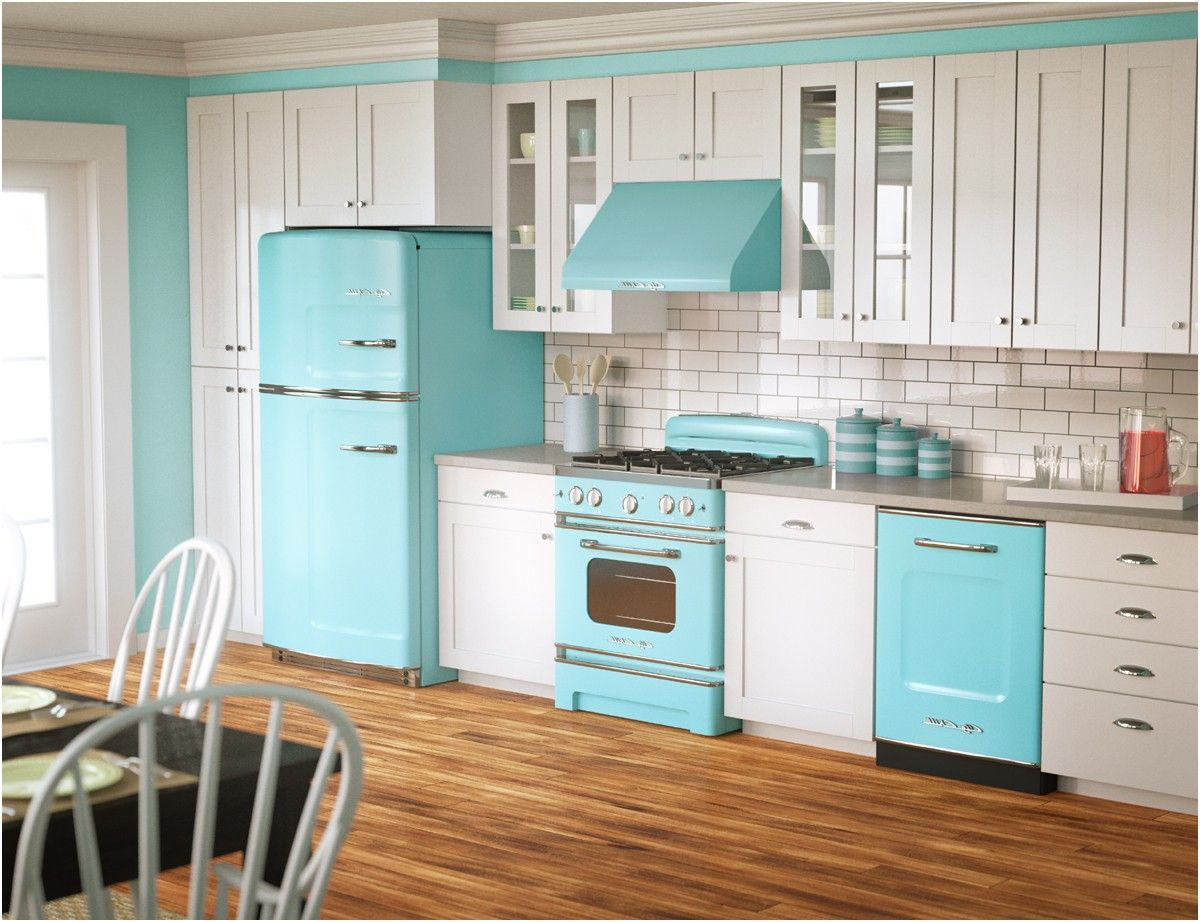 retro kitchen appliances gallery big chill retro and kitchens from ...