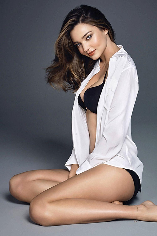fbb0f91c12 Miranda Kerr stuns in her underwear for Wonderbra ad campaign ...