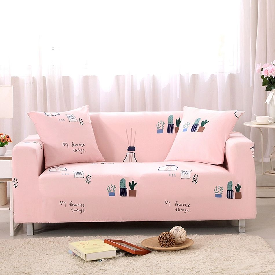 2//3 Seater Printing Sofa Flora Slipcover Stretch Elastic Protector Couch Cover
