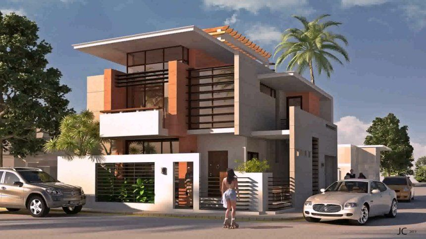 House Designs Indian Style Exterior Design Pictures With Plans And Software Full Si 2 Storey House Design Modern House Exterior Modern Exterior House Designs