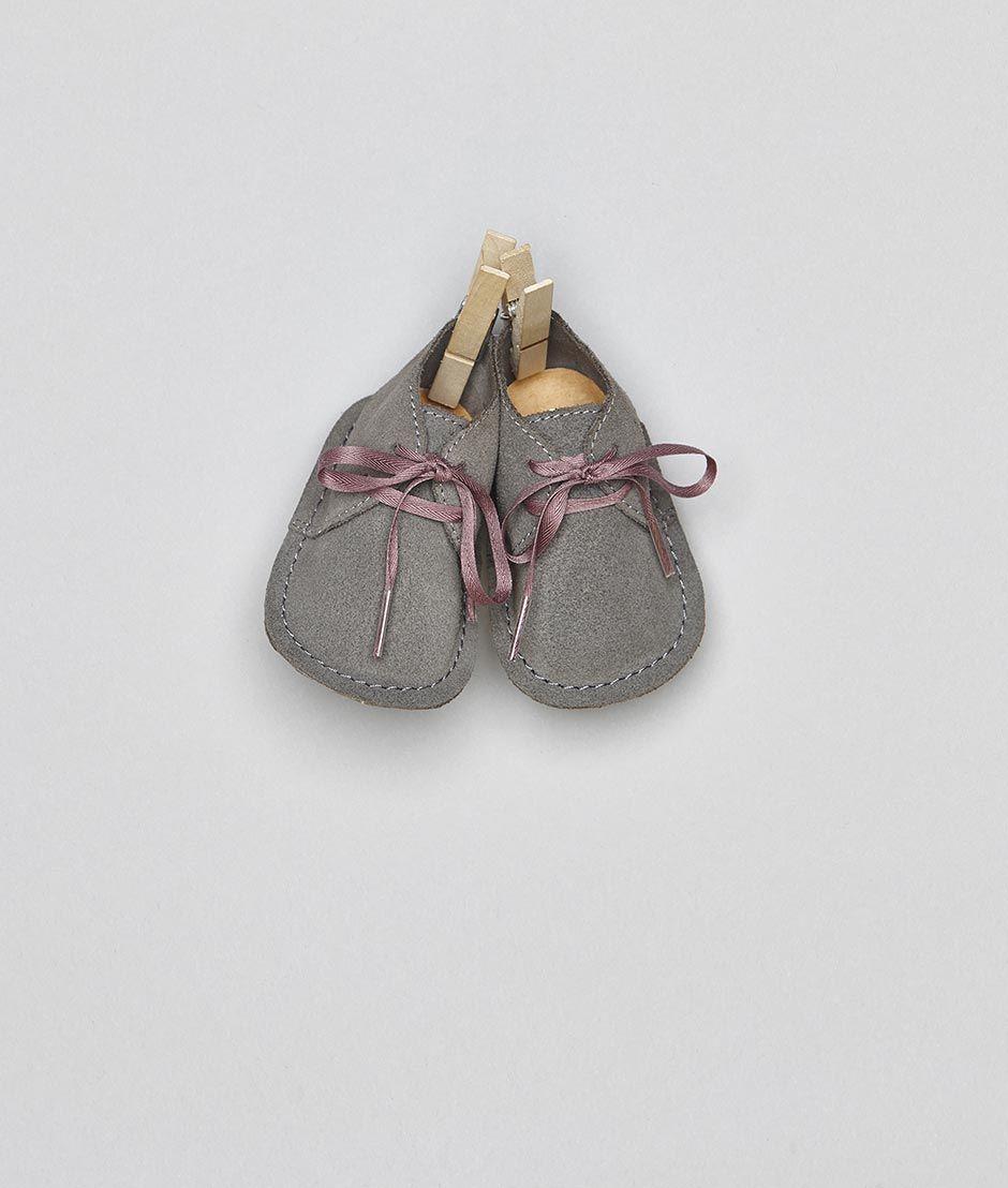 Bota bebé gris/rosa   Nicoli