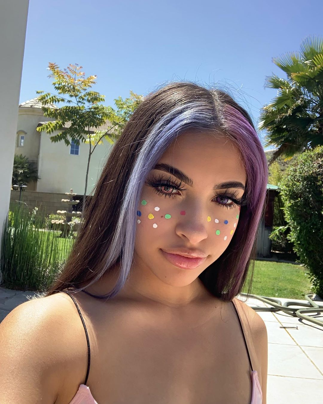 Hi Loves Hair Color Streaks Hair Inspo Color Split Dyed Hair