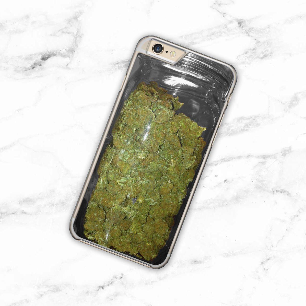 cover iphone 6 marijuana