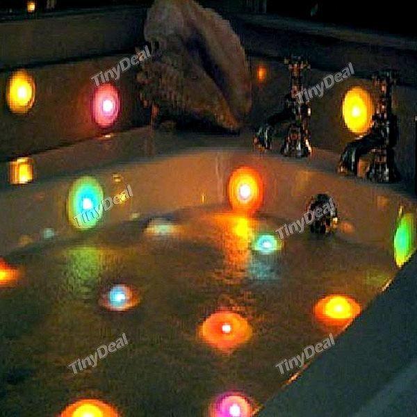 LED RGB Color Changing Bathtub Light Spa Light Hot Tub Lights HLT ...