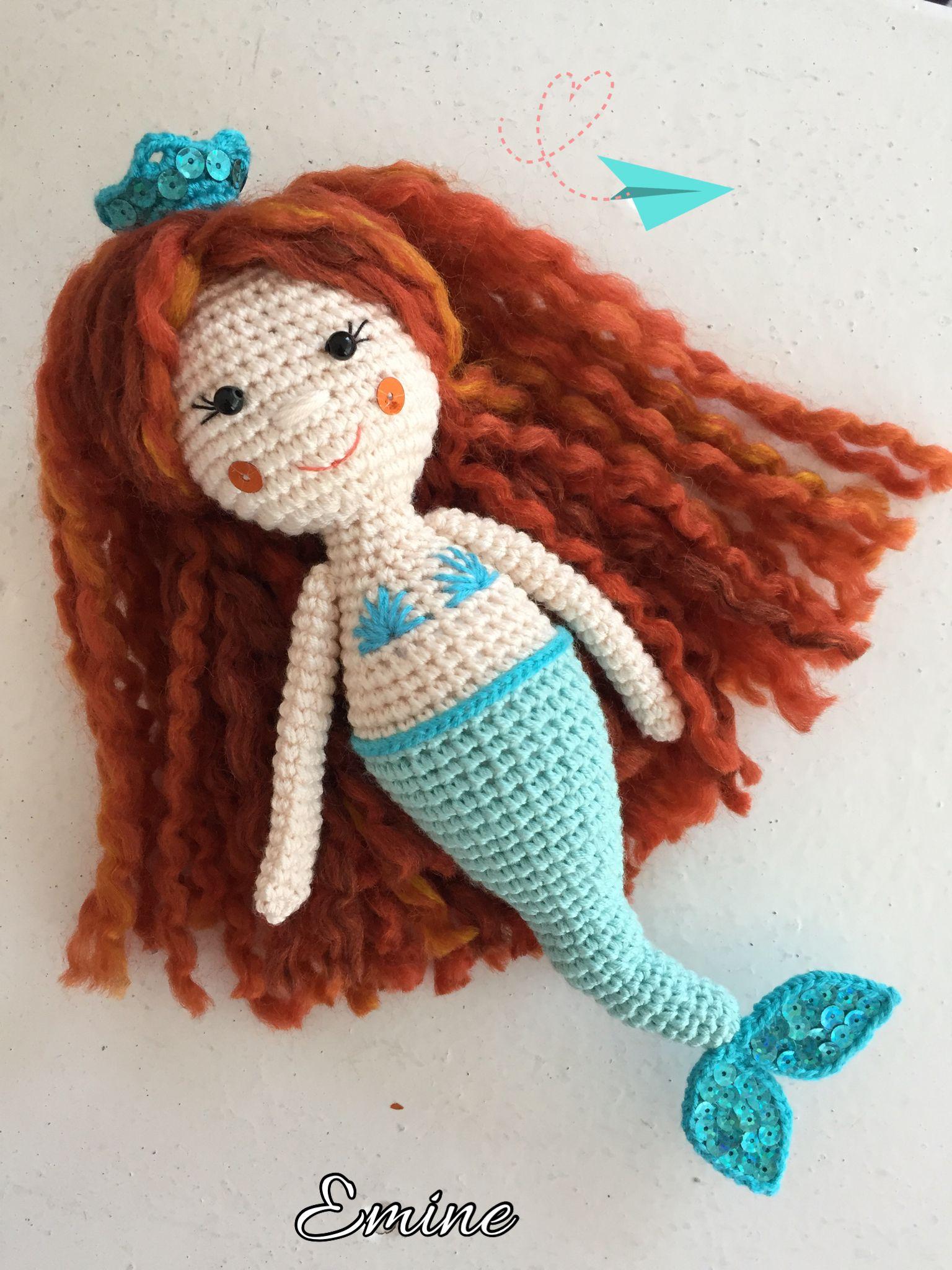 Pin Von Royogirl Auf Mermaid Amigurumi Pinterest