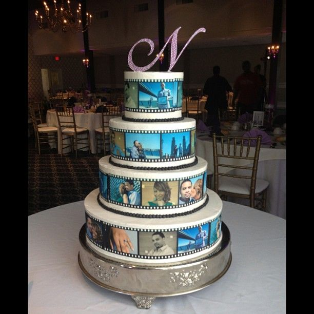 Film Strips Of Love Weddings At Cake Life In 2019 Cake