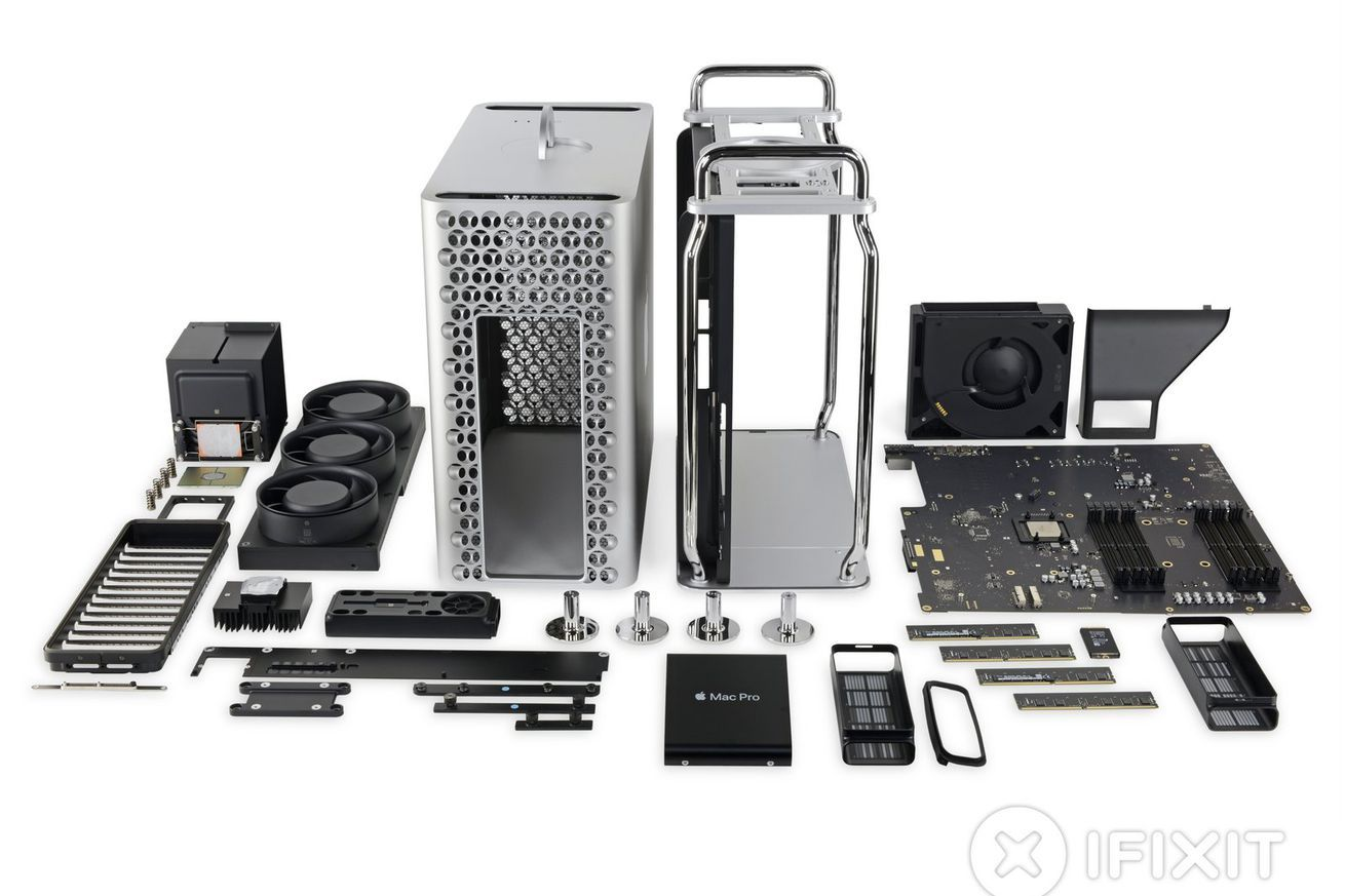 Apple's new Mac Pro is its most repairable device in years
