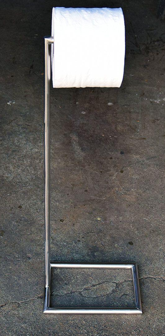 Free Standing Steel Toilet Paper Holder Floor Standing Toilet Etsy Toilet Paper Holder Toilet Paper Holder Stand Free Standing Toilet Paper Holder,Cheap Home Garden Decoration Ideas