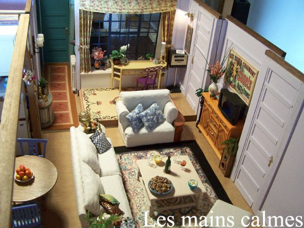 Miniature Of Friends Set Apartment