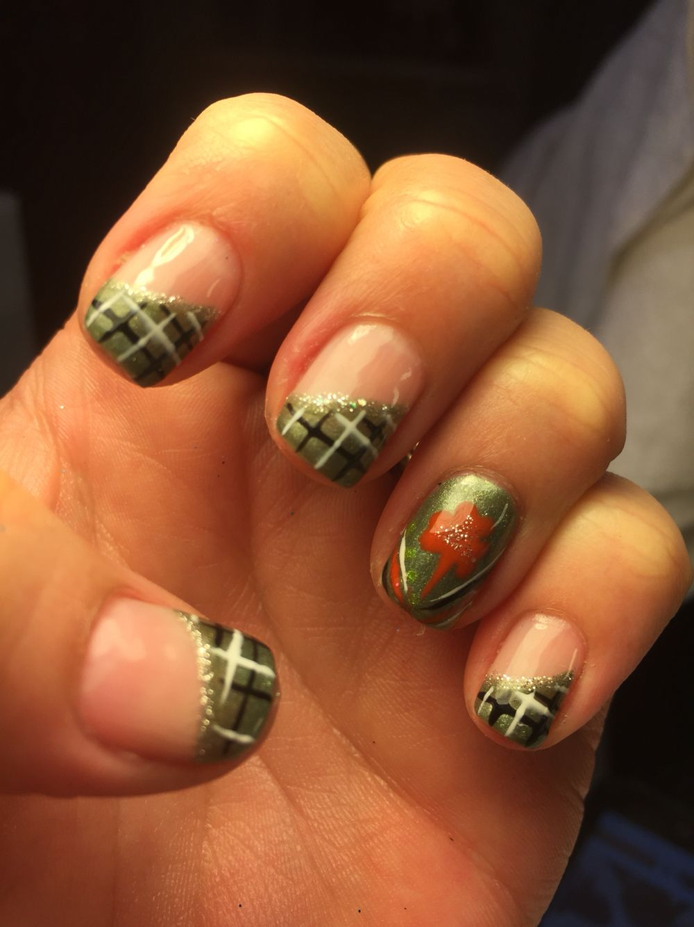 Paddy's Day Nails