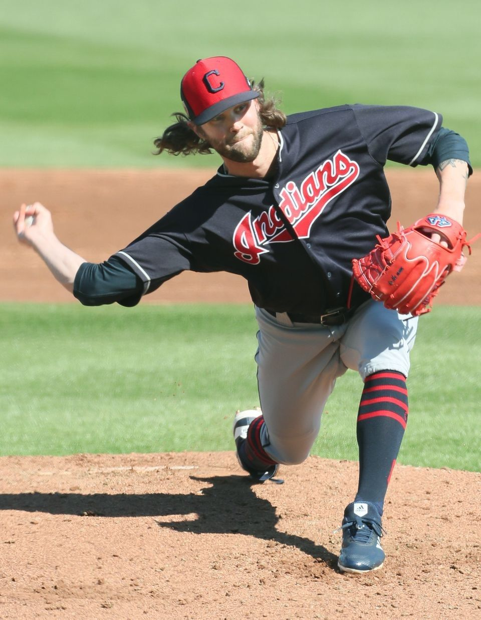 Cleveland Indians Adam Cimber Pitched A Shutout 3rd Inning Against The Cincinnati Reds At Goodye Cleveland Indians Major League Baseball Teams Cincinnati Reds