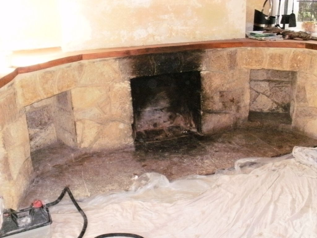 Diy Method For Cleaning The Area Near The Fireplace Cleaning