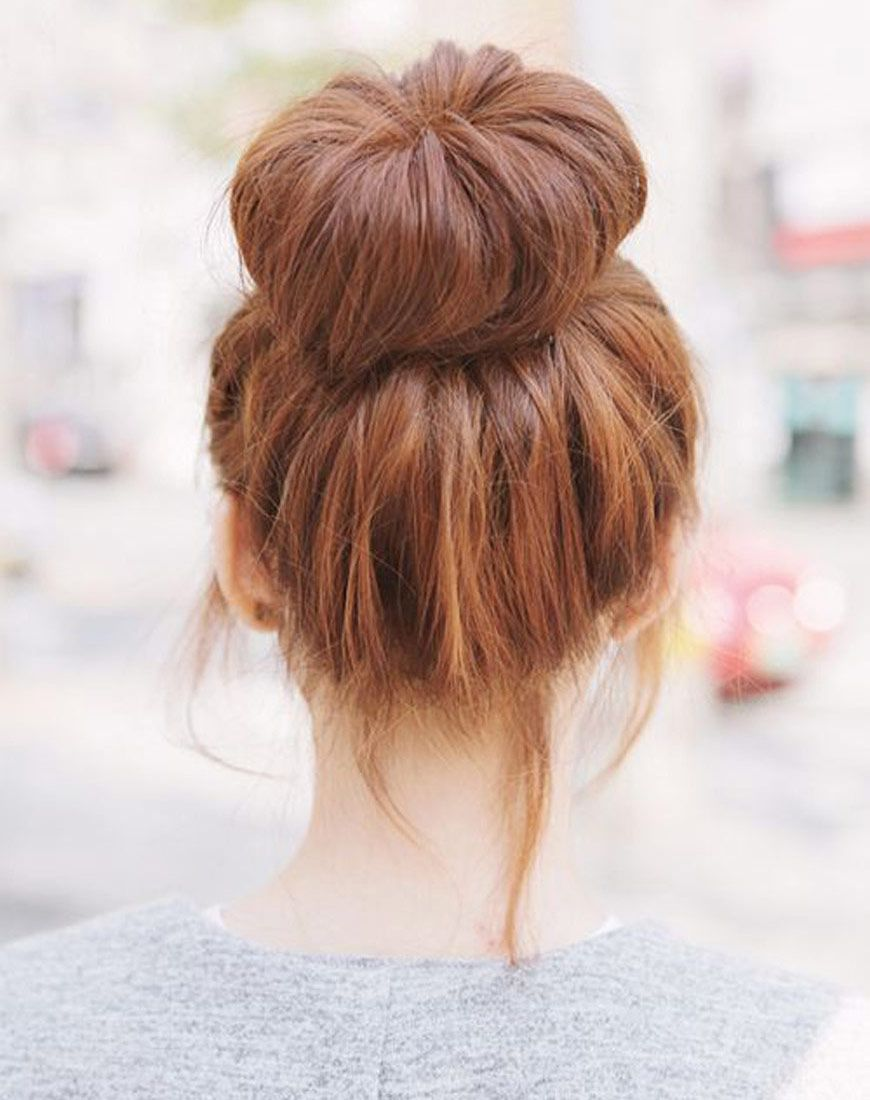 9 Ways To Pull Your Hair Up Fast Hair Styles Hair Bun Shaper Long Hair Styles