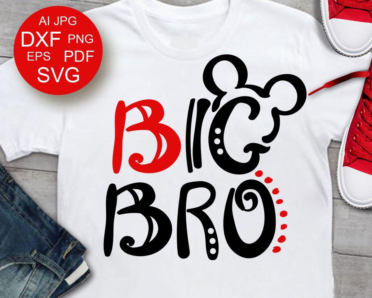 Big bro svg Big Brother shirt svg design Birthday boy