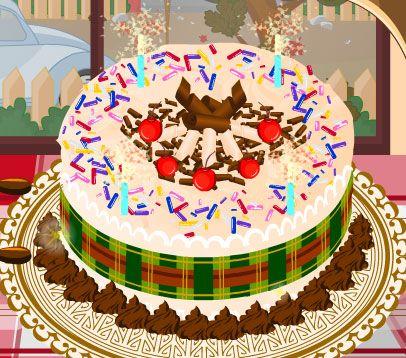 giochi di cucina torturiuna deliziosa torta decorare con panna montata e cuocere ciocalata