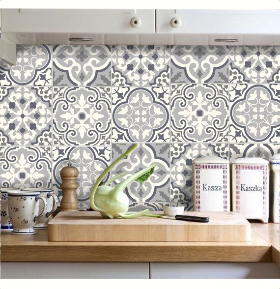 Tile Stickers - Decal for Kitchen/Bathroom Back splash/Floor: Bmix6 ...