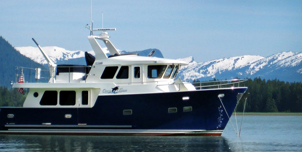 trawler yachts | Northwest Yachts – Trawlers, Expedition and Motor Yachts | Boats | Pinterest ...