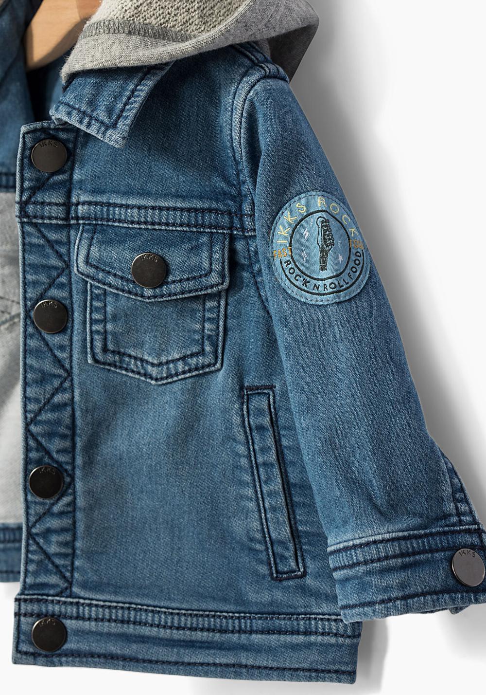 Ikks Summer Sale Baby Boys Stone Blue Denim Jacket Ikks Baby Clothes Denim Jacket Blue Denim Jackets [ 1428 x 1000 Pixel ]