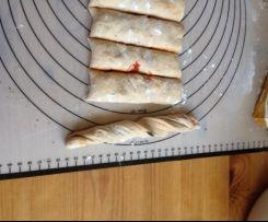 Brötchen und Brotstangen - Variation