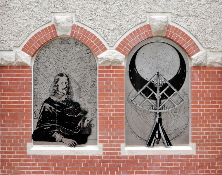 Relief Hevelius - Gdansk TU