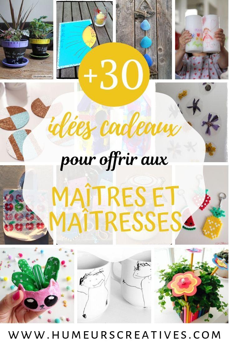 De 30 Idees De Cadeaux Faits Maison Pour Les Maitres Et Maitresses Cadeau Fait Maison Diy Cadeau Maitresse Idee Cadeau Maitresse