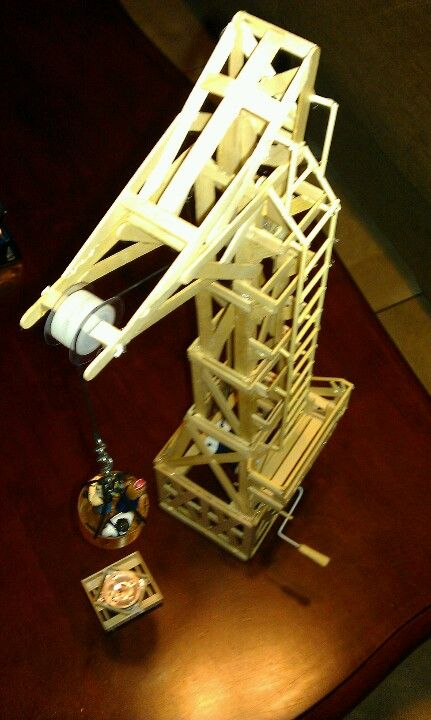 how to build a hut out of popsicle sticks