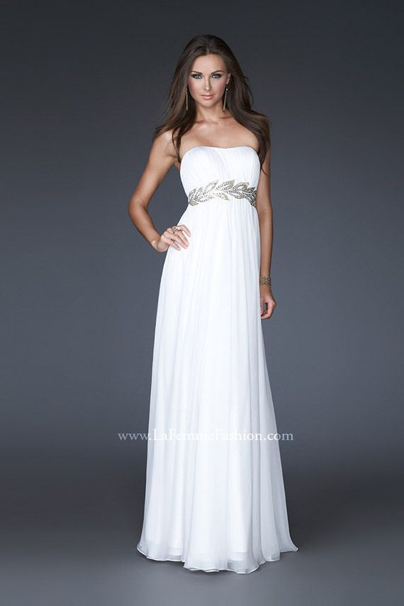 I'm starting to think I want a white dress