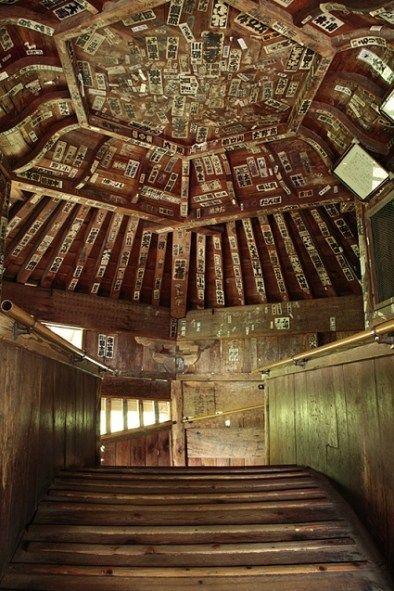 レオナルド・ダ・ヴィンチが考案!?世にも珍しい仏堂『会津さざえ堂』 | 旅時間